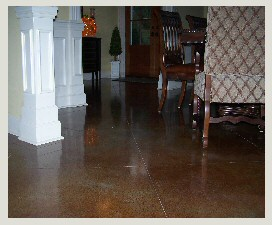Decorative Stained Concrete