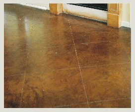 Stained Floor Concrete